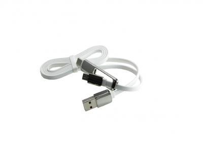 USB 2.0A/M to Micro 5P+Type-C To Micro B/F Cable Adapter