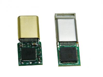 USB Type-C + Audio IC Paddle Card Plug